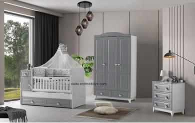 Grey Bebek Odası Takımı