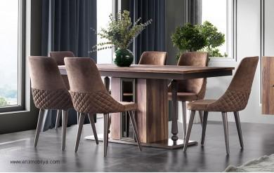 Leylak Masa Sandalye Takımı