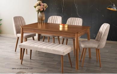 Rustik Masa Sandalye Takımı