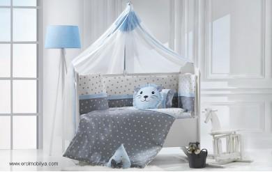 Nana Mavi Uyku Seti Takımı